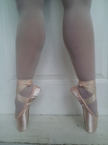 Back en pointe after 20 years!